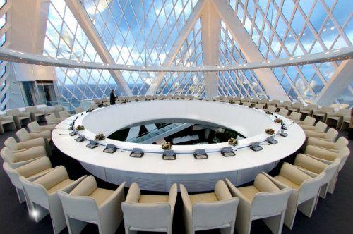 Kazakhstan Futistic Meeting Room