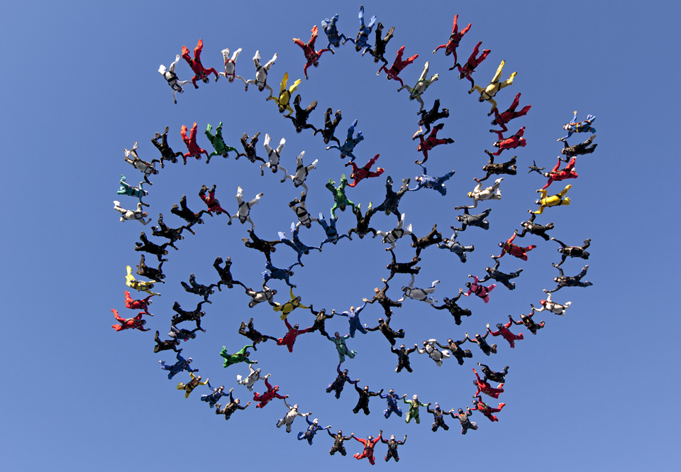 Skydiving World Record