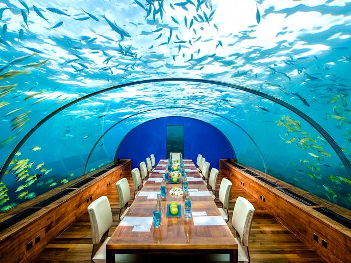 Underwater Meeting Room