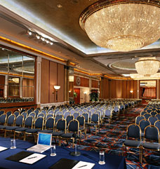 Meeting venue in United Arab Emirates with conference rooms available to hire.