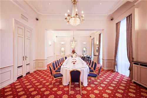 Meeting Rooms at Hotel Metropole, Place De Brouckère 31, Brussels, Belgium