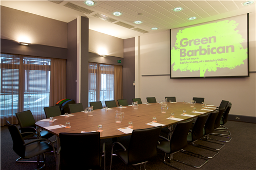 Barbican Conference Centre meeting rooms