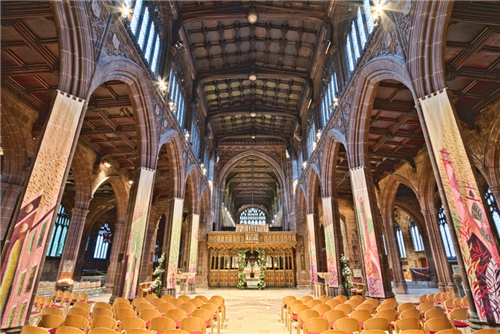 The Manchester Cathedral meeting rooms