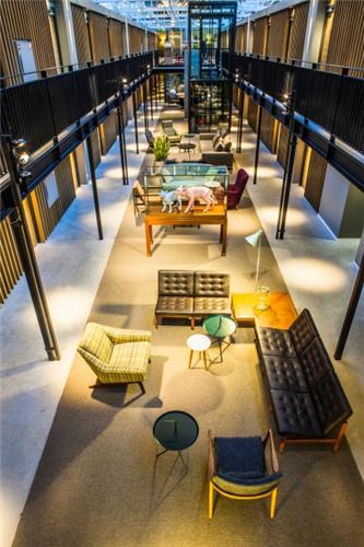 Hotel de Hallen meeting rooms