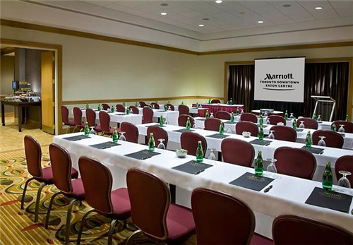 Meeting Rooms At Marriott Toronto Downtown Eaton Centre 525 Bay Street Toronto On Canada