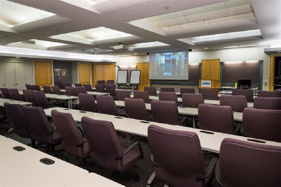 AMA's New York Conference Center meeting rooms