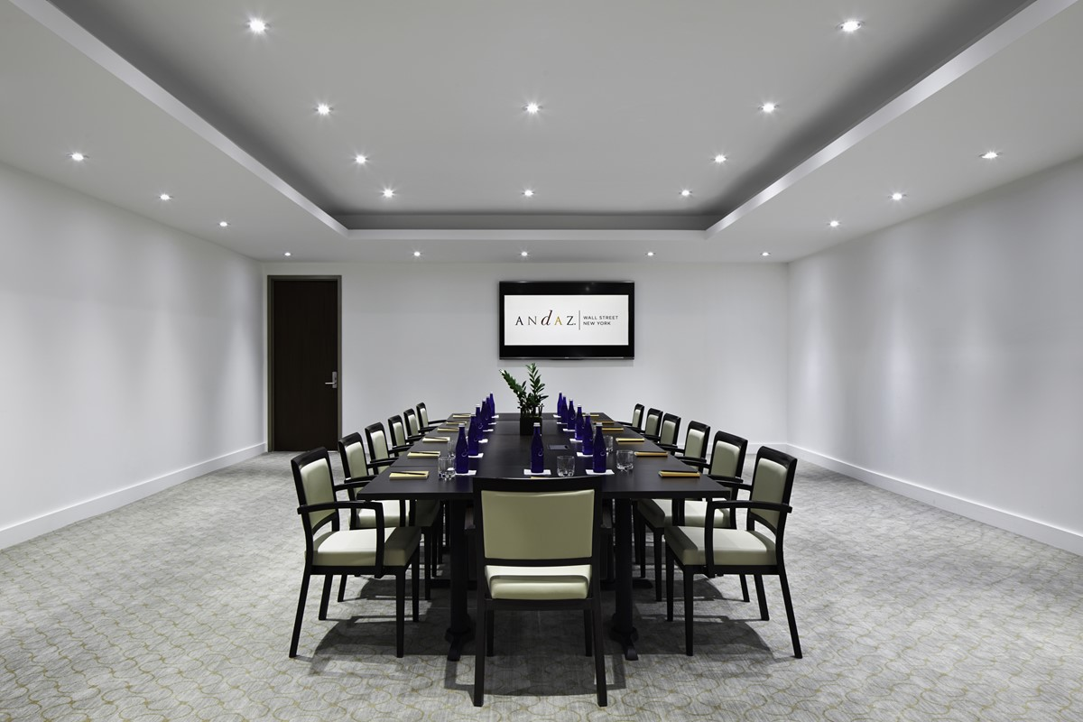 Meeting Rooms at Andaz Wall Street, Andaz Wall Street, Wall Street, New York, NY, United States