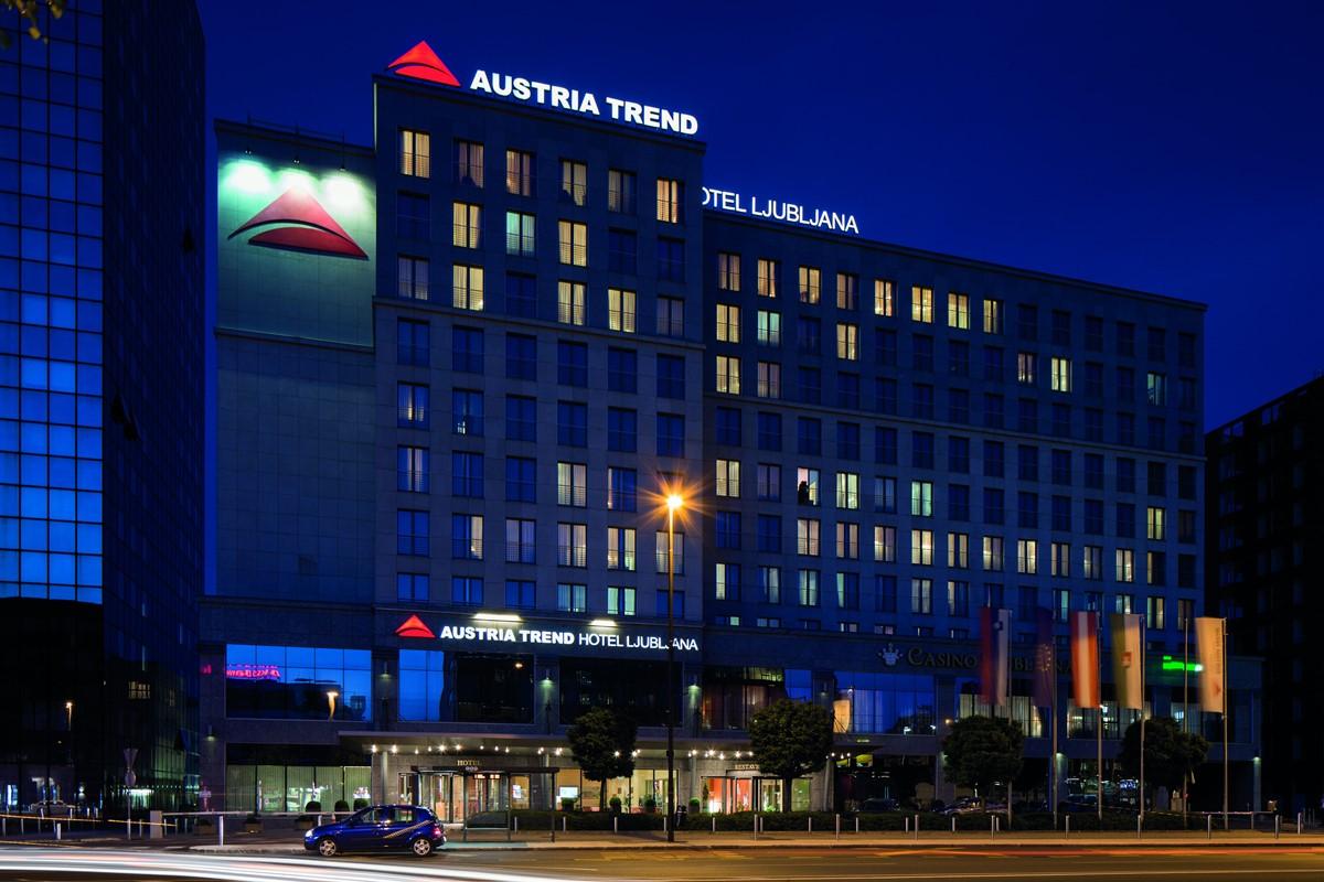 Austria Trend Hotel Ljubljana meeting rooms