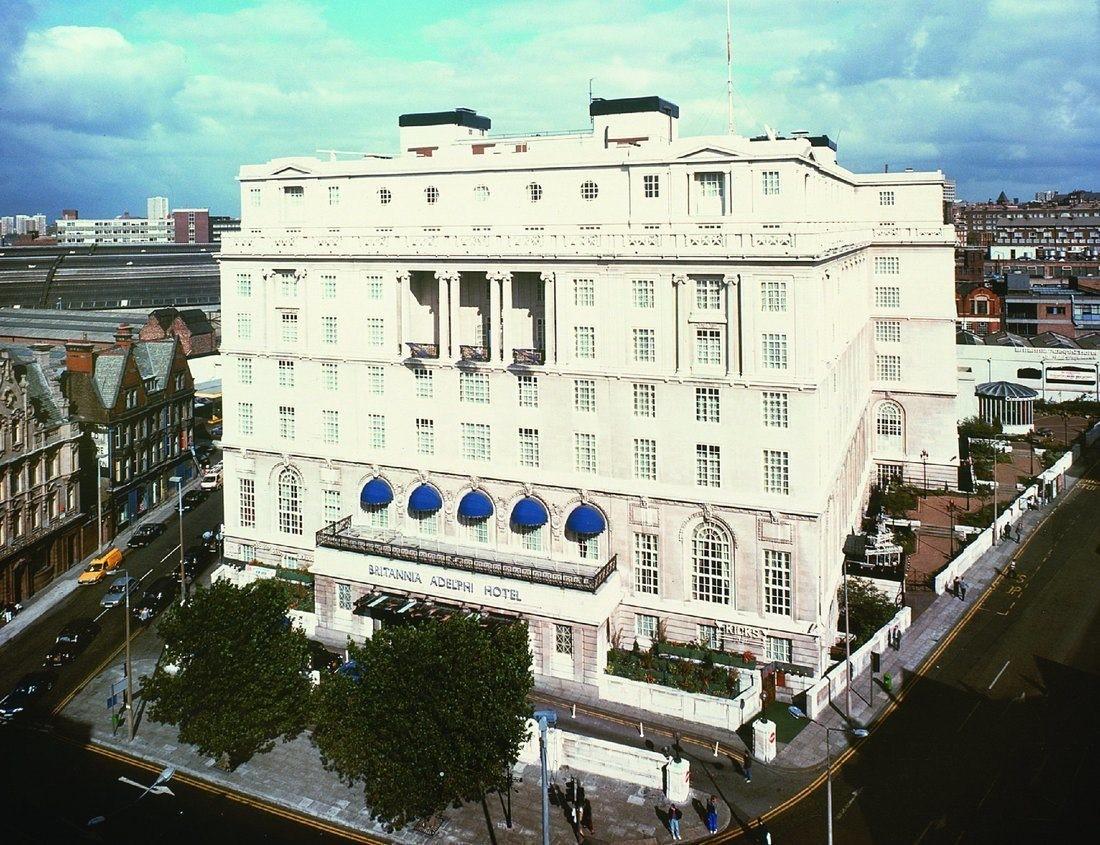 Meeting rooms at britannia adelphi hotel britannia Adelphi hotel liverpool swimming pool