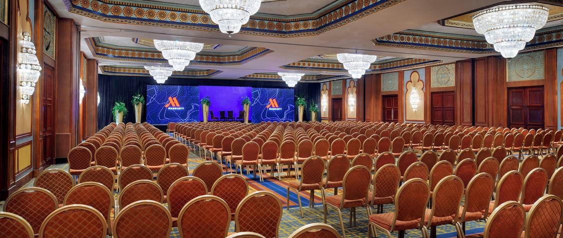Cairo Marriott Hotel & Casino meeting rooms