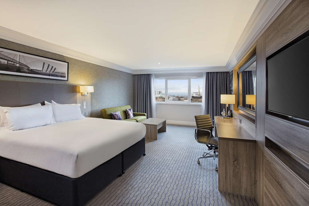Double Tree Hilton Glasgow Room