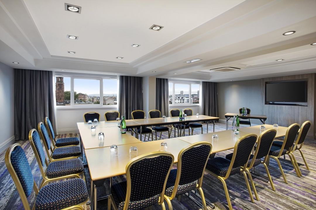 Meeting Rooms At Doubletree By Hilton Hotel Glasgow