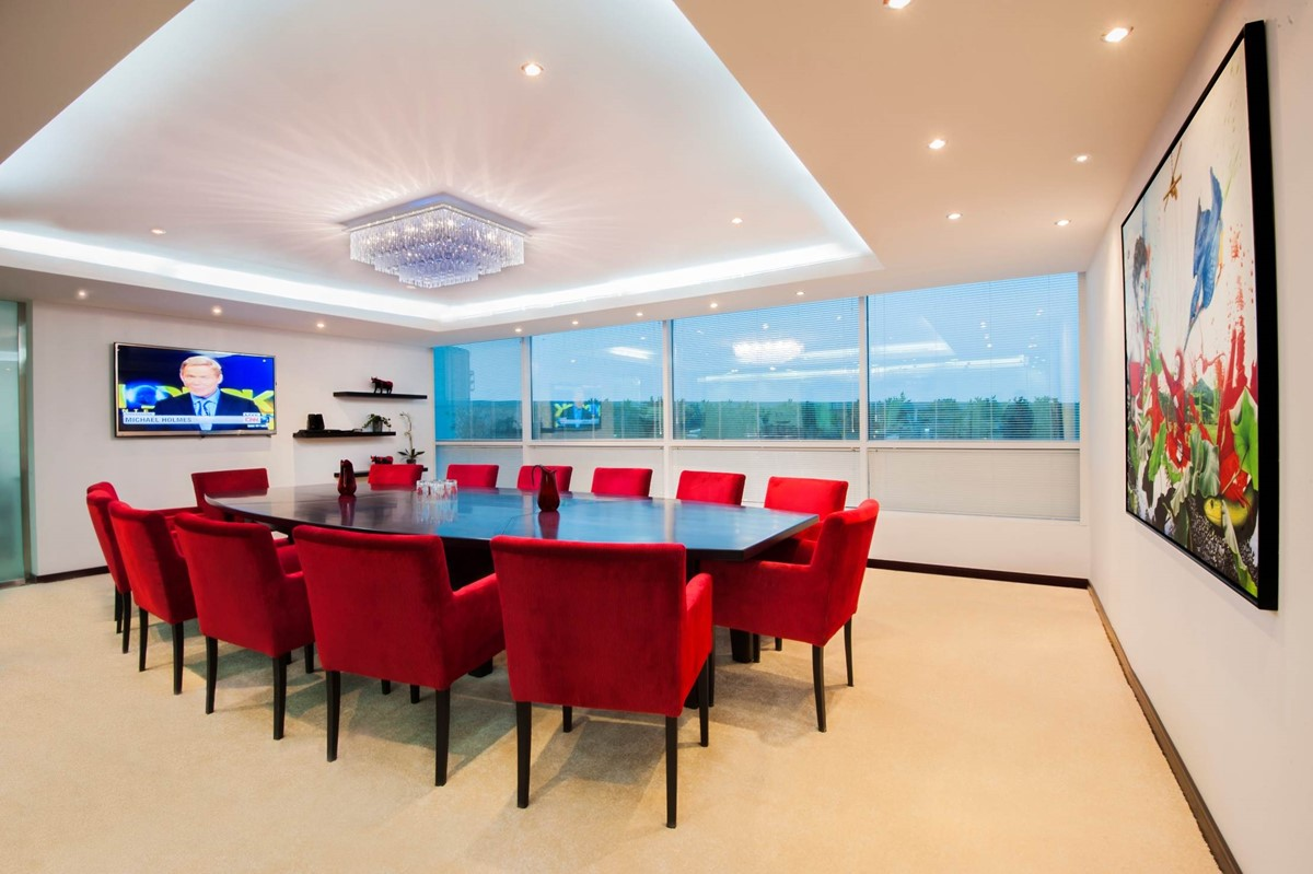 Dubai Media City meeting rooms