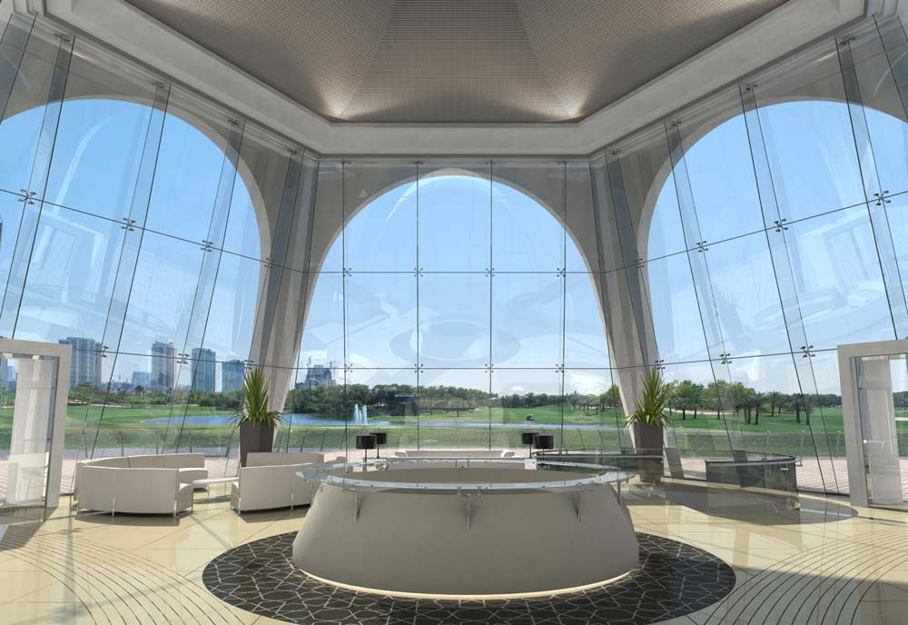 Emirates Golf Club meeting rooms