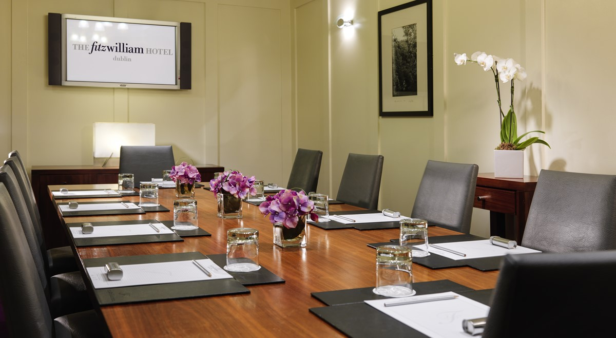 Meeting Rooms at The Fitzwilliam Hotel St Stephen s Green St