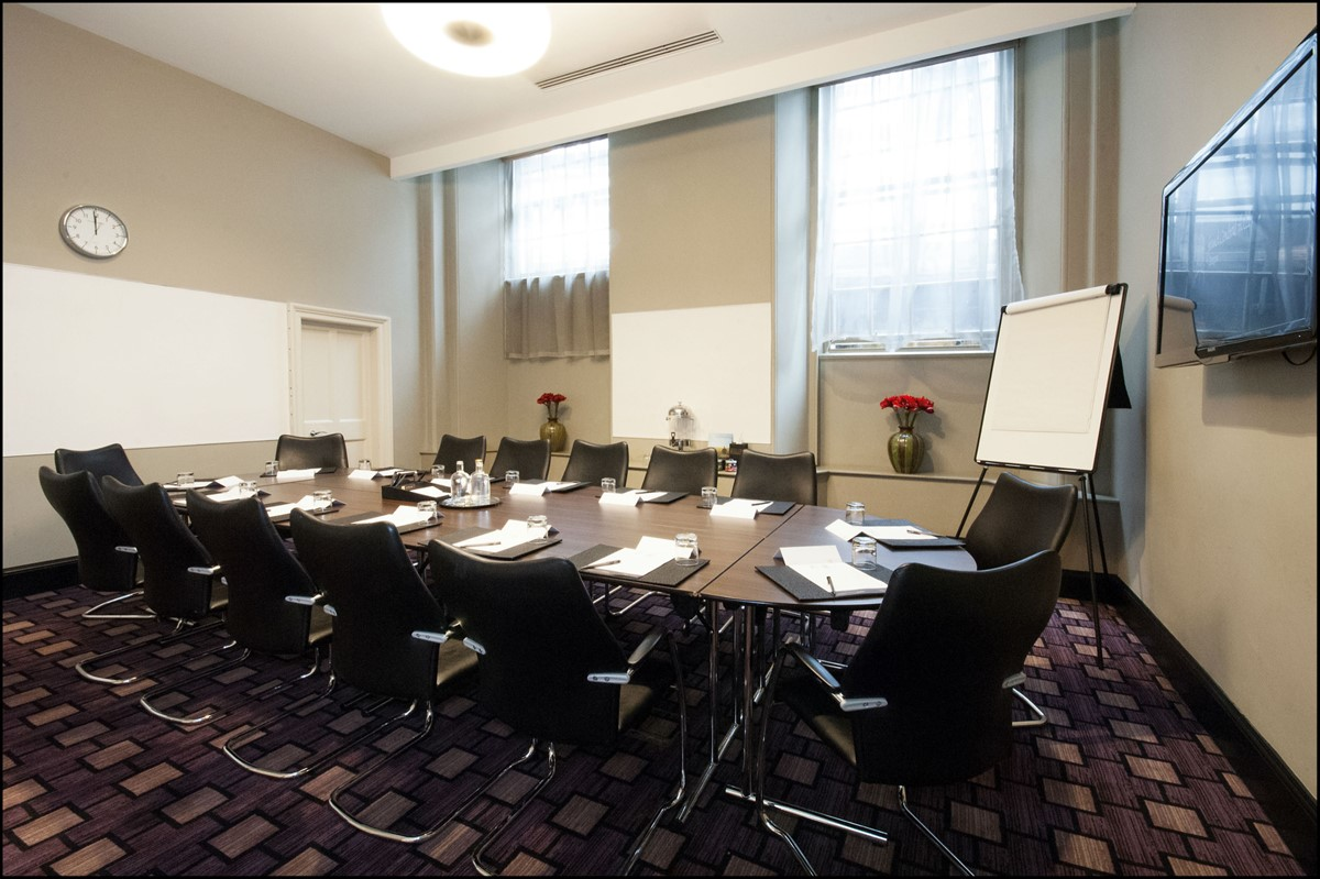Meeting rooms at grand central hotel grand central hotel for Designer room glasgow