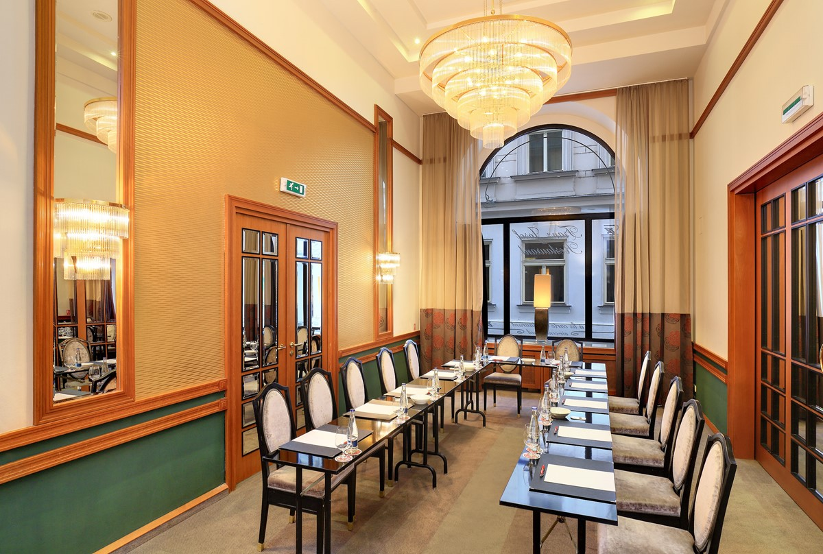 Meeting rooms at grand hotel bohemia grand hotel bohemia for Grand hotel bohemia prague reviews