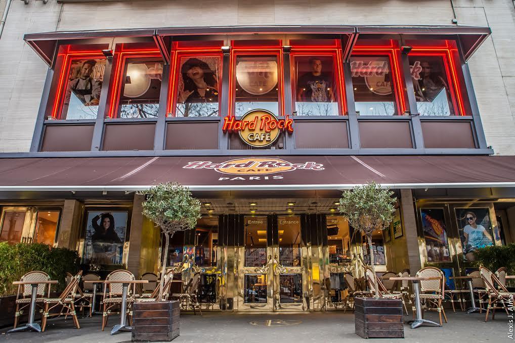 Hard Rock Caf Ef Bf Bd  Boulevard Montmartre  Paris