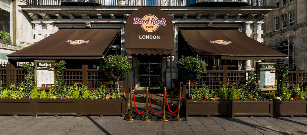 Hyde Park To Hard Rock Cafe London