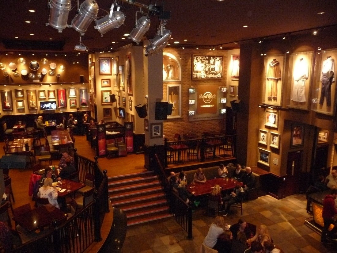 Hard Rock Cafe Manchester Merchandise