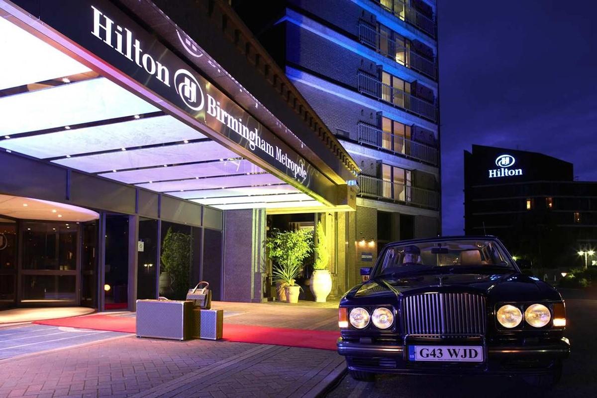 Hilton Birmingham Metropole Hotel meeting rooms