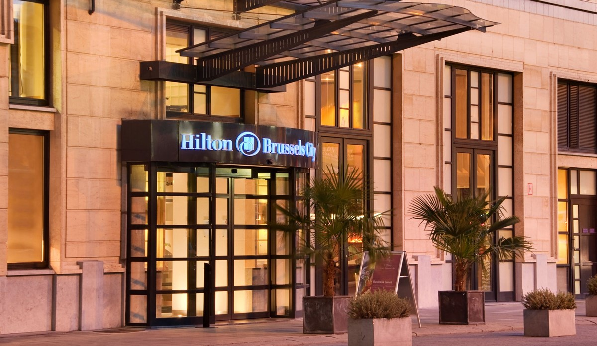 Hilton Brussels City meeting rooms