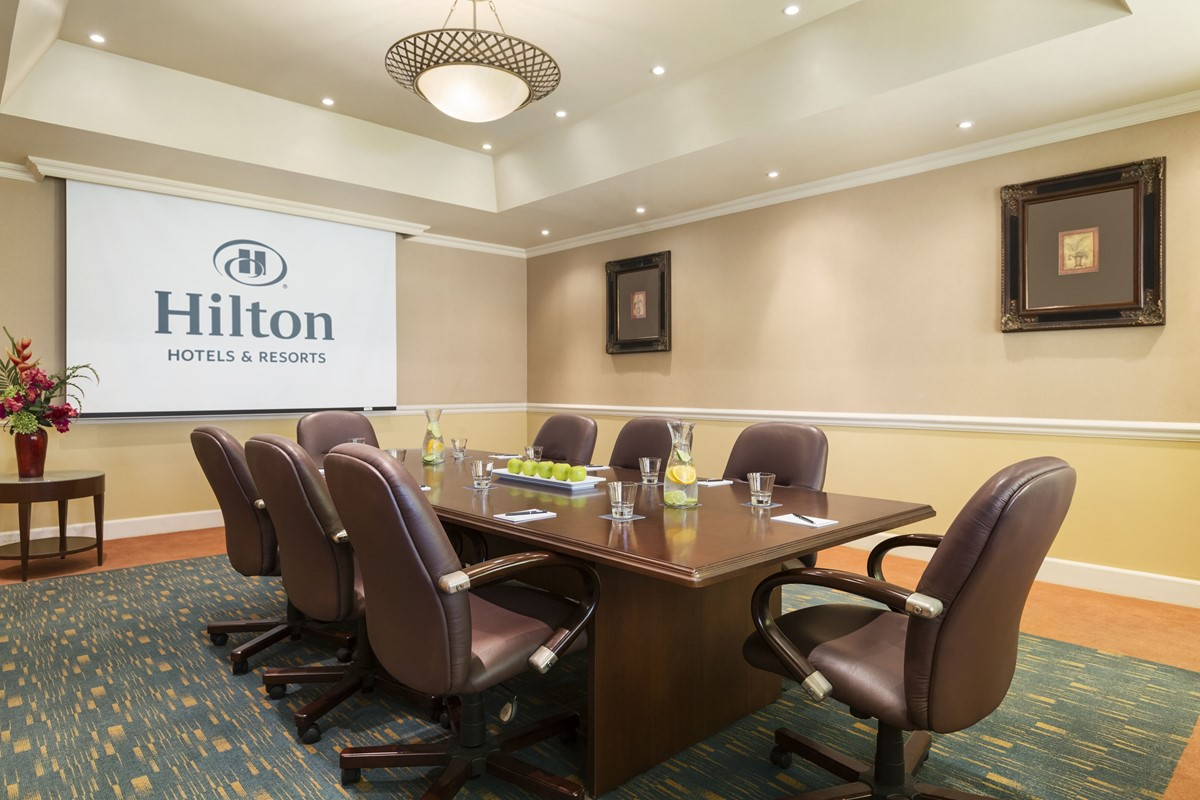 Meeting Rooms At Hilton Curacao Jf Kennedy Blvd