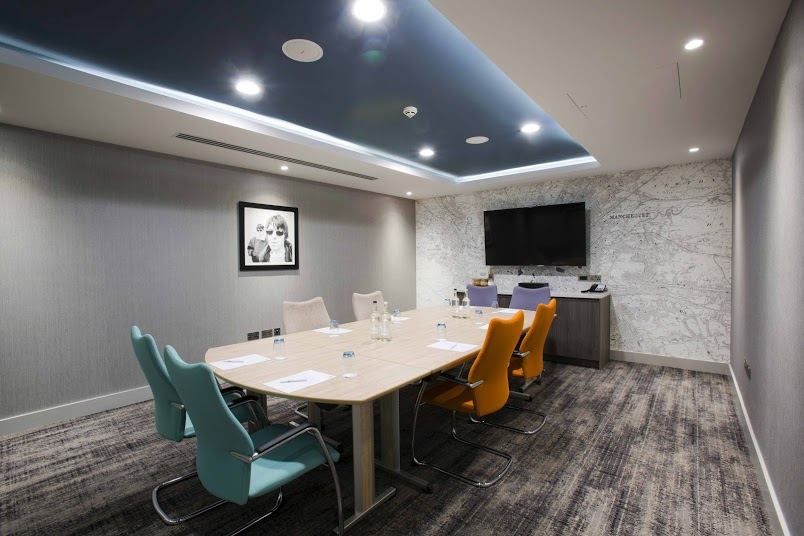 Meeting Rooms At Holiday Inn Manchester City Centre