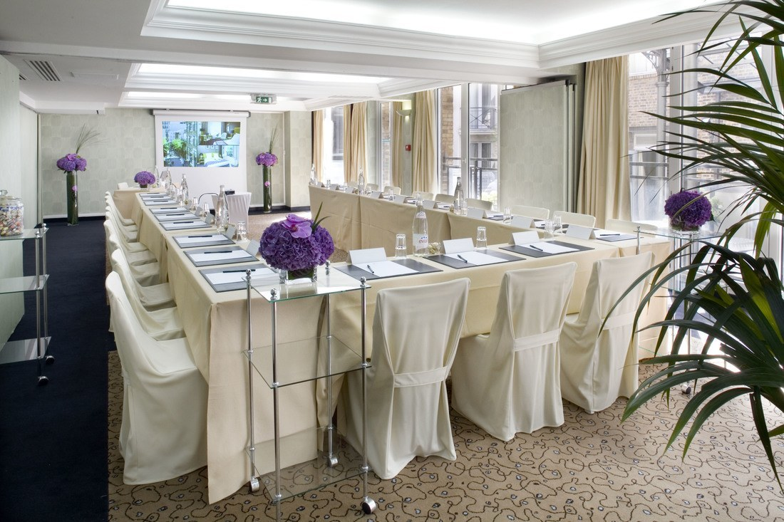 Meeting rooms at hotel les jardins du marais paris les for Les jardins de paris hotel