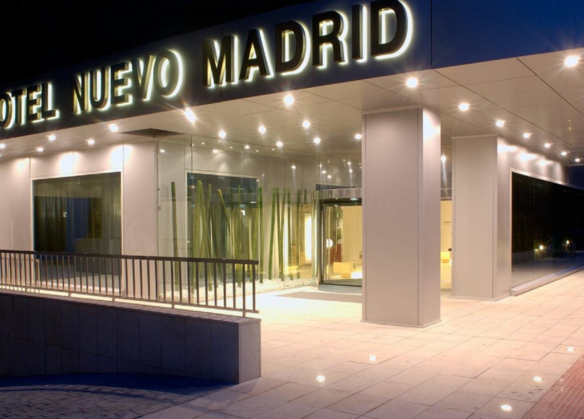 Hotel Nuevo Madrid meeting rooms