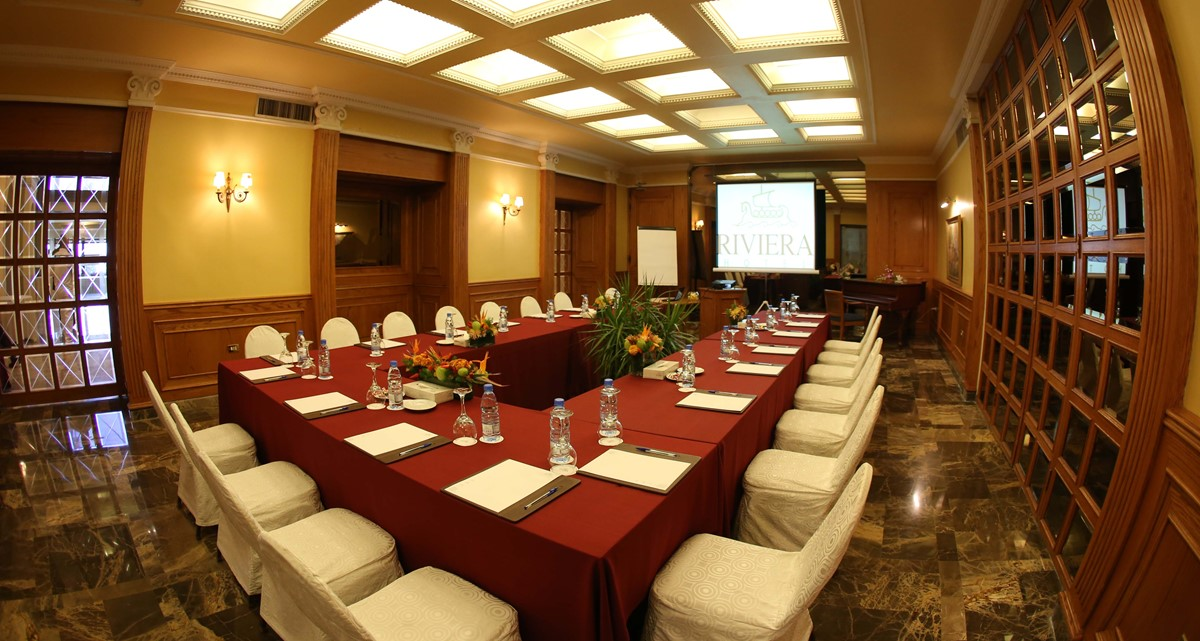 Hotel Riviera meeting rooms