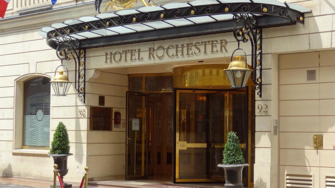 Meeting Rooms at Hotel Rochester Champs Elysees, 92 Rue La Bo�tie ...