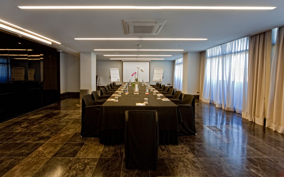 Meeting rooms at hotel silken puerta america madrid - Silken puerta de america ...