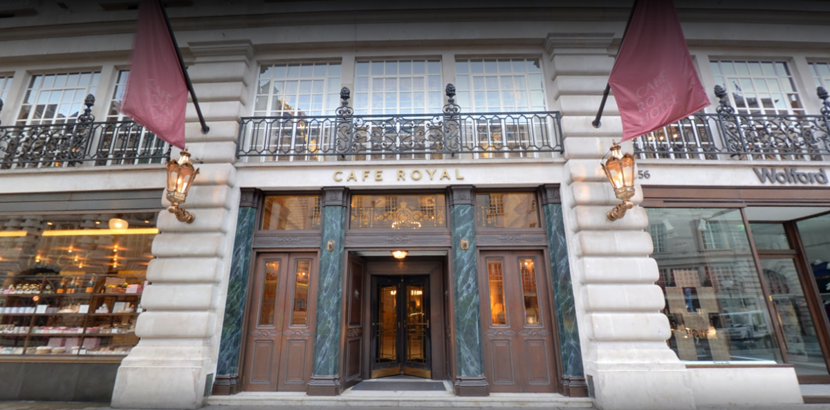 Hotel Cafe Royal London Reviews