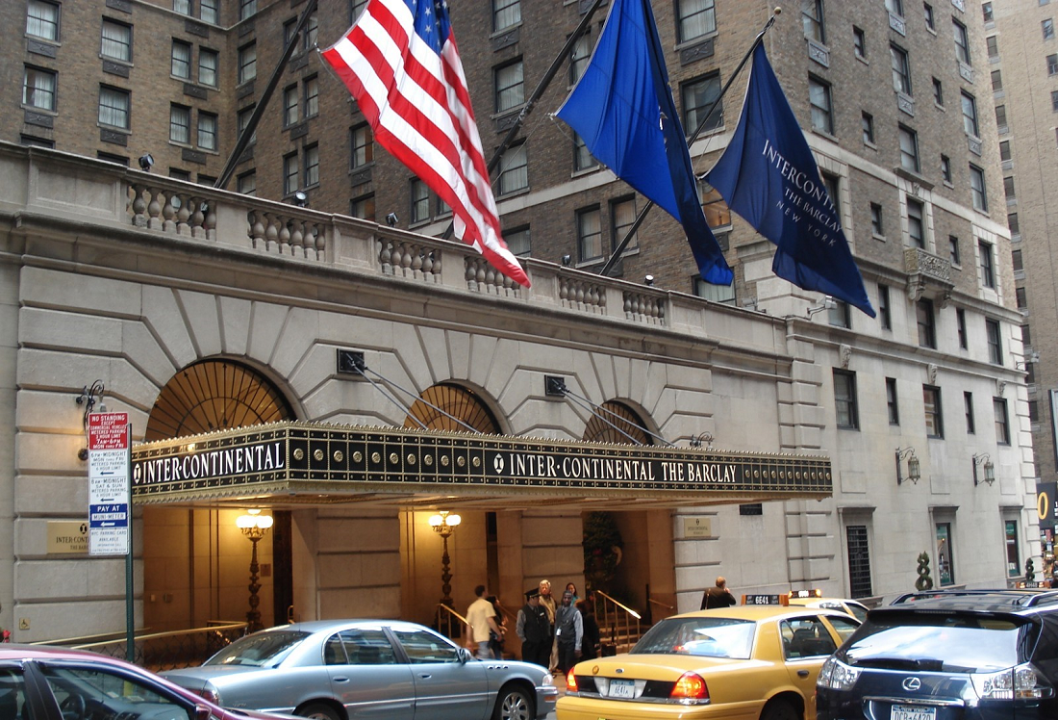 Meeting rooms at intercontinental new york barclay 111 e for The barclay