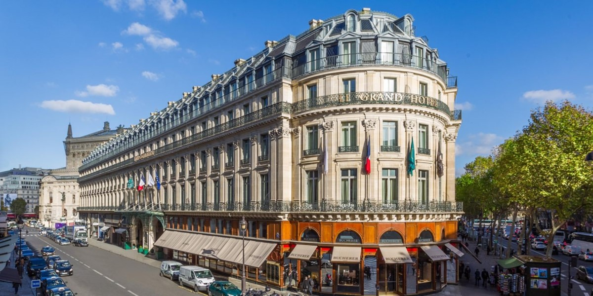 Meeting rooms at intercontinental paris le grand hotel for Hotel de luxe france