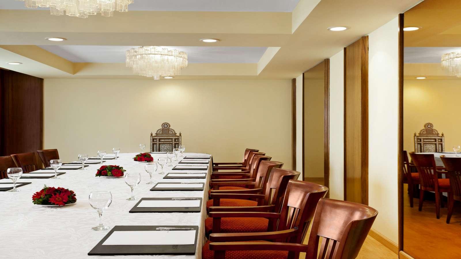 Le Meridien Heliopolis meeting rooms