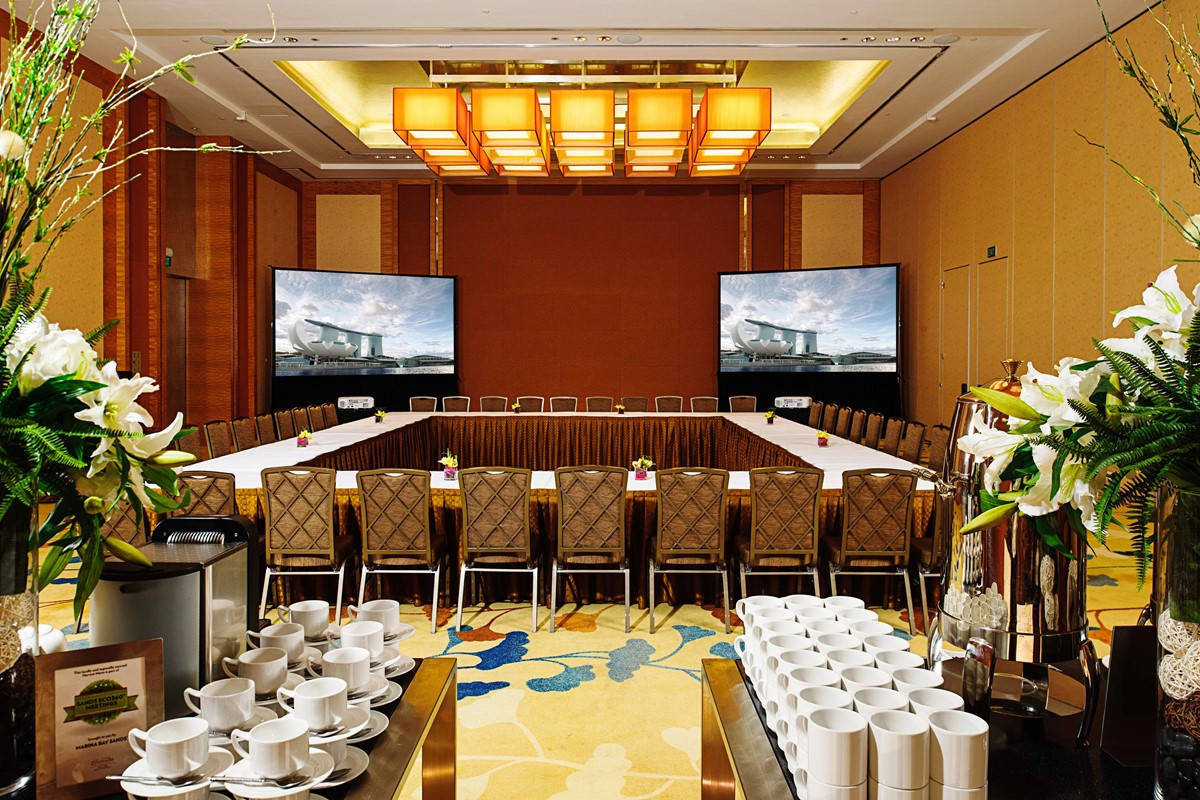For Just 0 You Can Book The Begonia Ballroom 4 At Marina Bay Sands