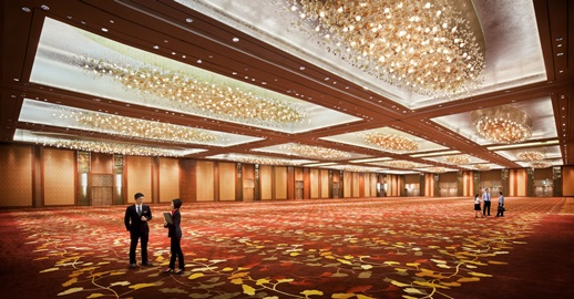 For Just 0 You Can Book The SANDS Grand Ballrooms At Marina Bay Sands