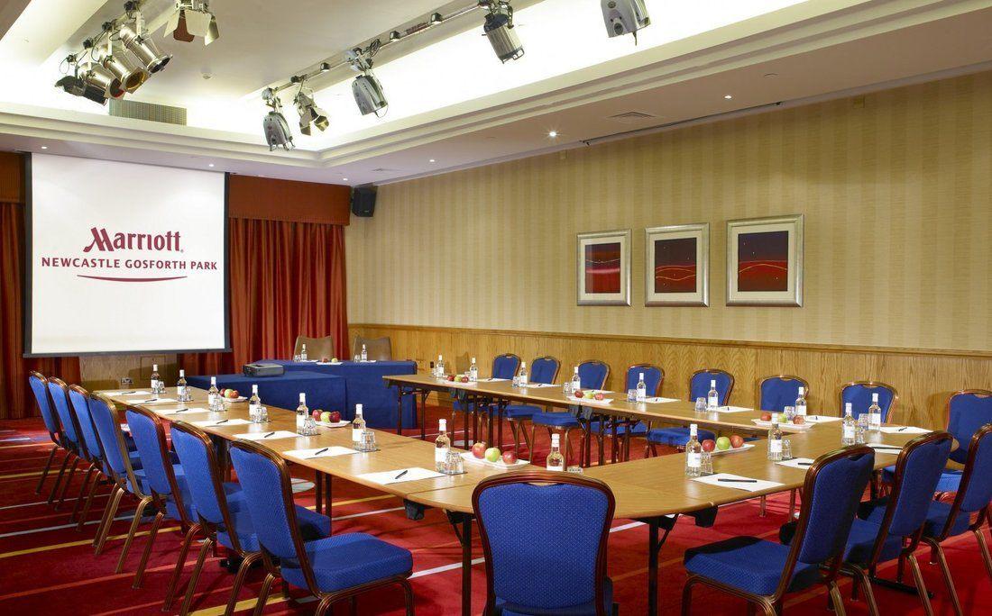 Marriott Hotel Gosforth Park meeting rooms