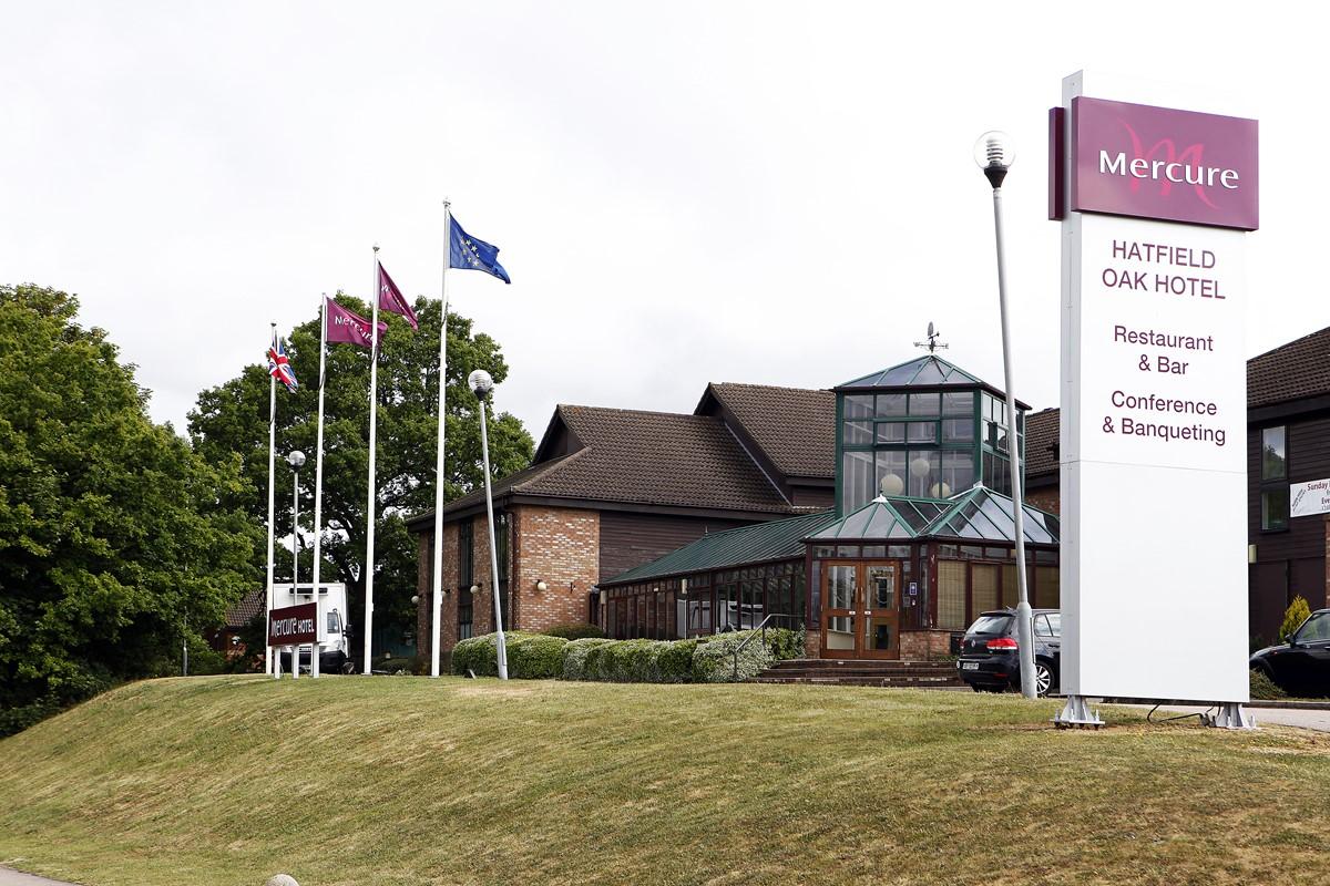 Mercure Hatfield Oak Hotel meeting rooms