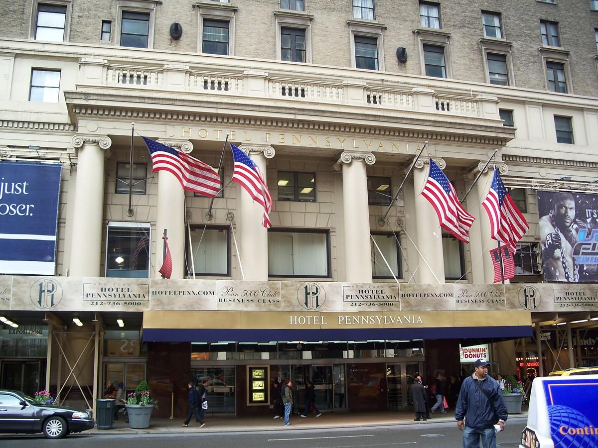 Meeting rooms at new yorks hotel pennsylvania 401 7th for Pennsylvania hotel new york haunted