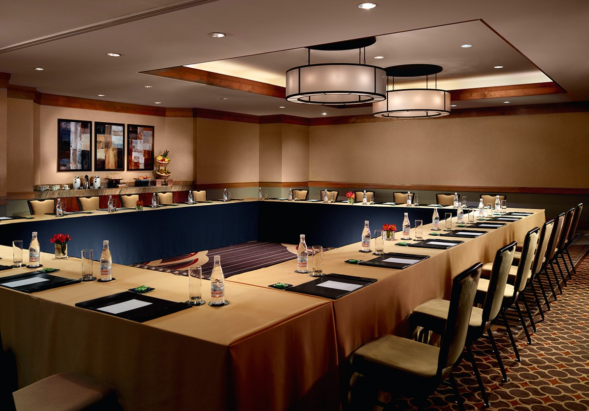 Meeting Rooms at Omni Los Angeles Hotel at California Plaza, 251 S ...