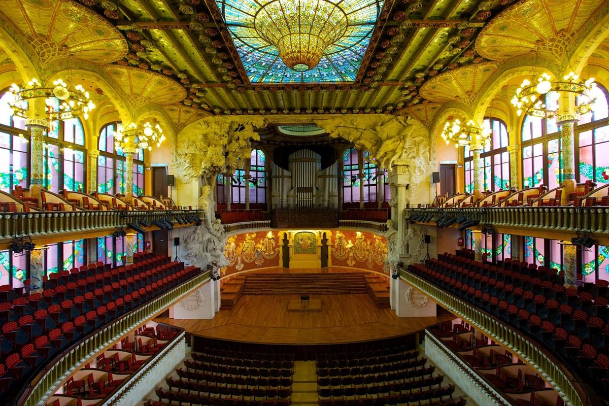 Palau de la Musica Catalana meeting rooms