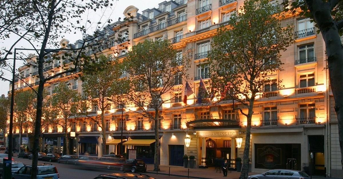 meeting rooms at paris marriott opera ambassador hotel