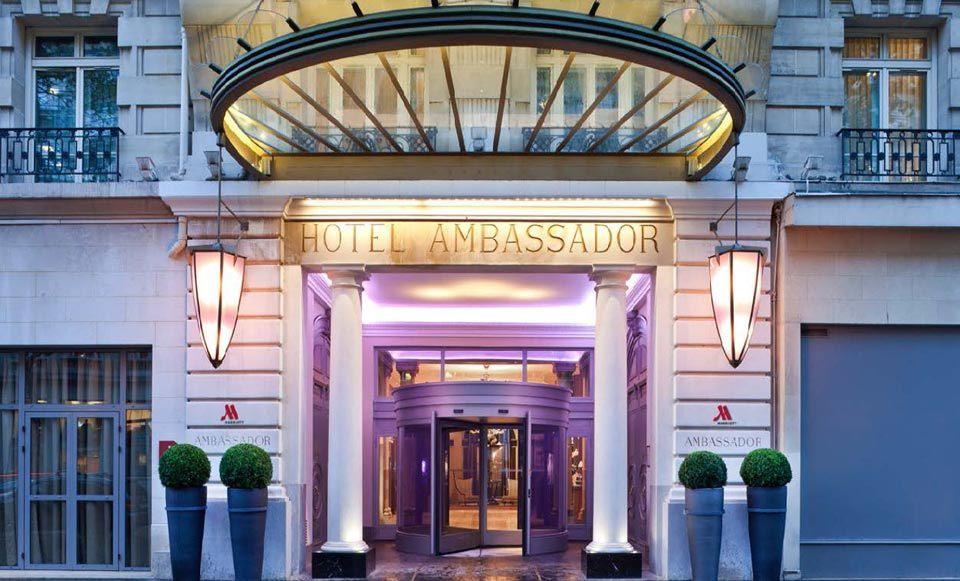 Meeting Rooms At Paris Marriott Opera Ambador Hotel 16 Boulevard Haussmann France Meetingsbooker