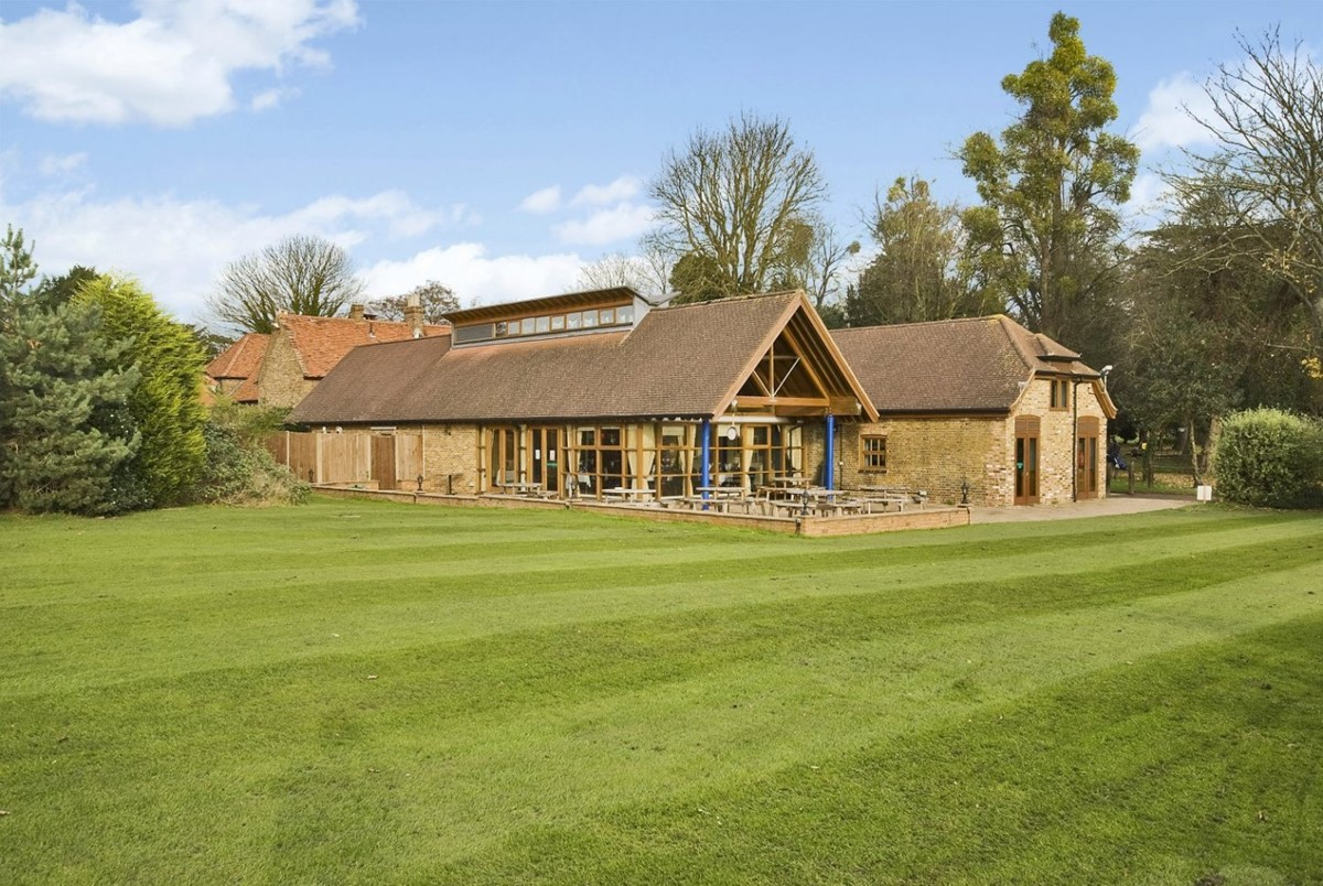 For Just 500 You Can Book The Club House At Richings Park Golf