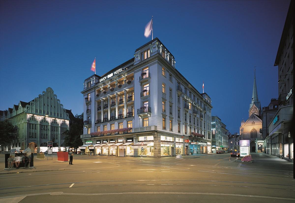 Meeting Rooms at Savoy Baur En Ville Paradeplatz Zurich