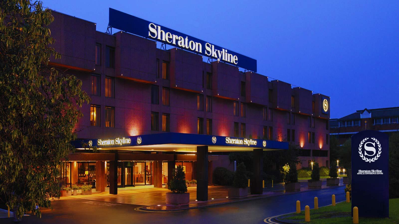 Meeting Rooms At Sheraton Skyline Hotel London Heathrow Sheraton