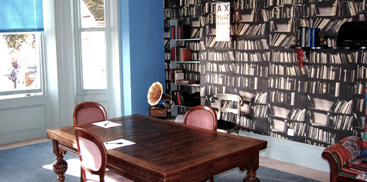 For Just 125 You Can Book The Library At Cottonwood Boutique Hotel In